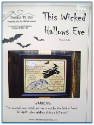 This Wicked Hallowed Eve with Charm / Designs by Lisa