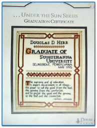 Graduation Certificate / Donna Lee Designs