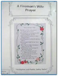 Fireman's Wife Prayer / Art Ventures