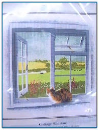Cottage Window / Heritage Stitchcraft