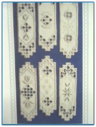 Bookmarks / Satin Stitches