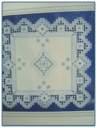 Snowflakes / Satin Stitches