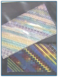 Diagonal Sampler Checkbook Cover / Debbee's Designs