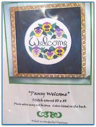 Welcome Pansies / Handblessings