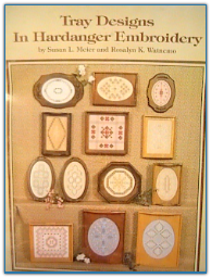 Tray Designs in Hardanger Embroidery