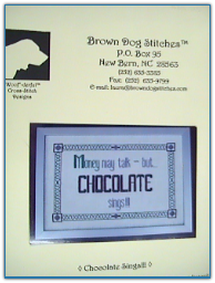 Chocolate Sings / Brown Dog Stitches