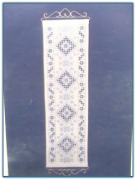 Medallion Band / Satin Stitches