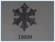 Large Snowflake Crystal Bright