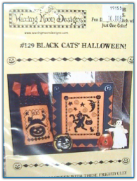 Black Cats' Halloween / Waxing Moon Designs