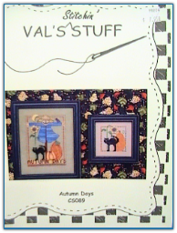Autumn Days / Val's Stitchin Stuff