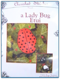 Lady Bug Etui / Cherished Stitches