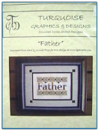 Father / Turquioise Graphics & Designs