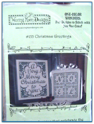 Christmas Greetings / Waxing Moon Designs