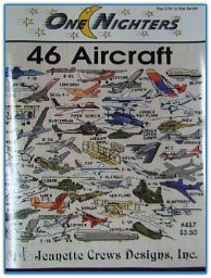 46 Aircraft / One Nighters / jeanette Crews Designs