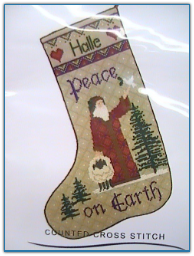 Peace Stocking / Erica Michaels
