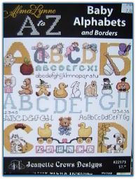 Baby Alphabets and Borders / Jeanette Crews Designs