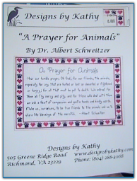 A Prayer for Animals / Designs by Kathy