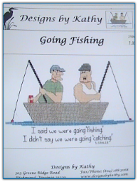 Going Fishing / Designs by Kathy