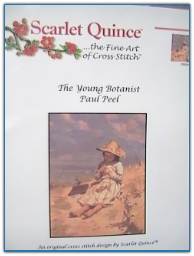 Young Botanist / Scarlet Quince
