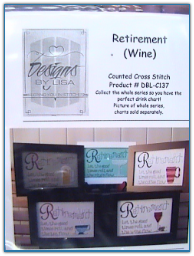 Retirement - Wine / Designs by Lisa