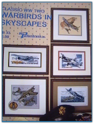 Classic WW Two Warbirds in Skyscapes / Puckerbrush