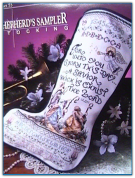 Sherpherd's Sampler Stocking / Stoney Creek