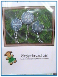 Three Sparkling Snowflakes / Gingerbread Girl