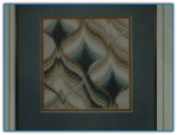 Triple Lutz Free-form Bargello / Rainbow Gallery