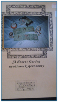 Secret Garden Needlework Necessary / Forget-me-nots in Stitches