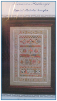Painted Alphabet Sampler / Hermanson Hardanger