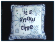 It's Snow Time Pillow
