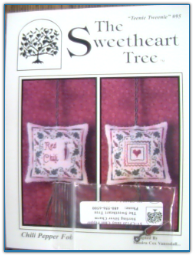 Chili Pepper Fob / Sweetheart Tree