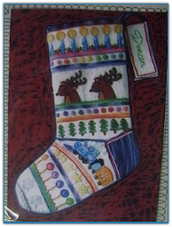 Choo-Choo Stocking / Tapis Tree