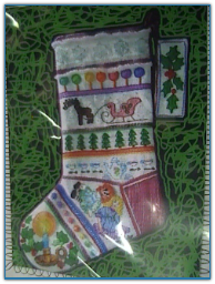 Tea Party Stocking / Tapis Tree