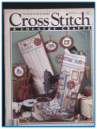 Aug 1989 / Cross Stitch and Country Crafts