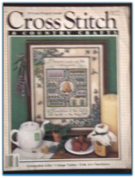 May / Jun 1987 Cross Stitch and Country Crafts