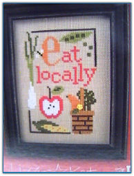 Eat locally / Flip-it / Lizzie Kate
