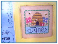 June / Flip-it Stamp / Lizzie Kate