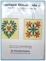 Applique Ornaments 4 / Charlotte Dudney