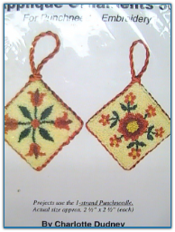Applique Ornaments 6 / Charlotte Dudney