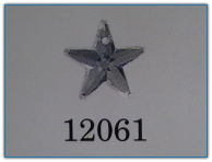 5 Pointed Star Crystal