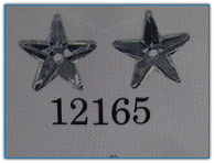 Small 5 Pointed Star Crystal Bright