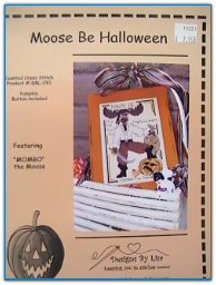 Moose Be Halloween with Button / Designs by Lisa