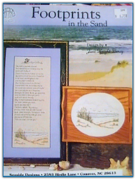 Footprints in the Sand / Seaside Designs