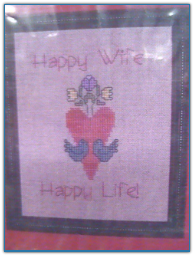 Happy Wife, Happy Life / One More Stitch