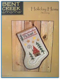 Holiday Home Stocking / Bent Creek