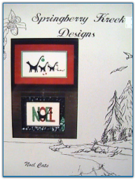 Noel Cats / Springberry Kreek Designs