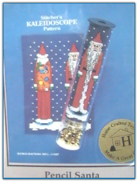 Pencil Santa / Home Crafted Toys