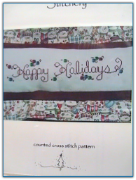 Happy Holidays / Country Garden Stitchery