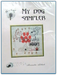 My Dog Sampler / Alessandra Adelaide Needleworks
